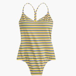 J. Crew T-Back Tank One Piece Swimsuit